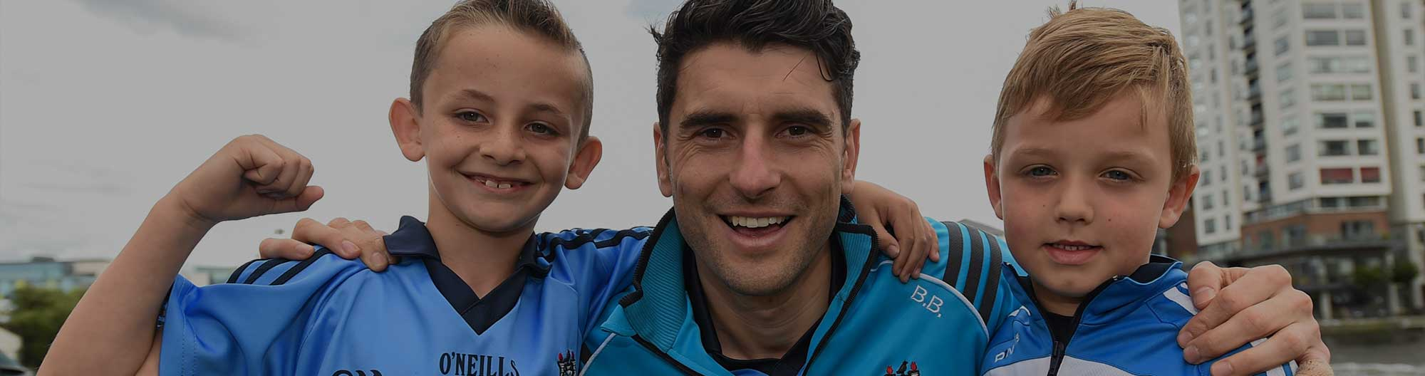 Kids grill Dublin GAA stars at AIG's Dublin jersey promotion launch