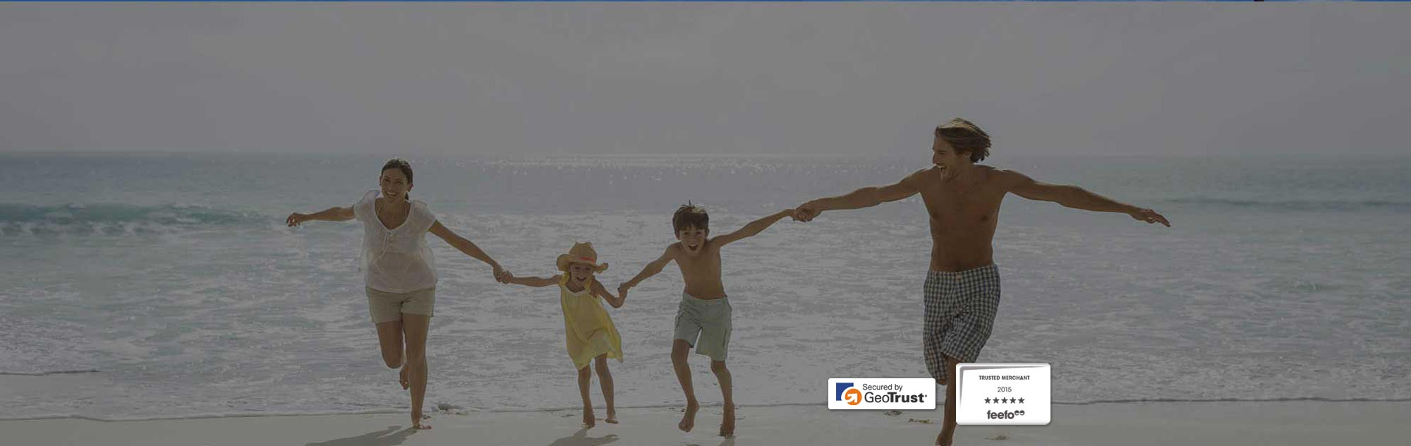 Family Holiday Travel Insurance Banner