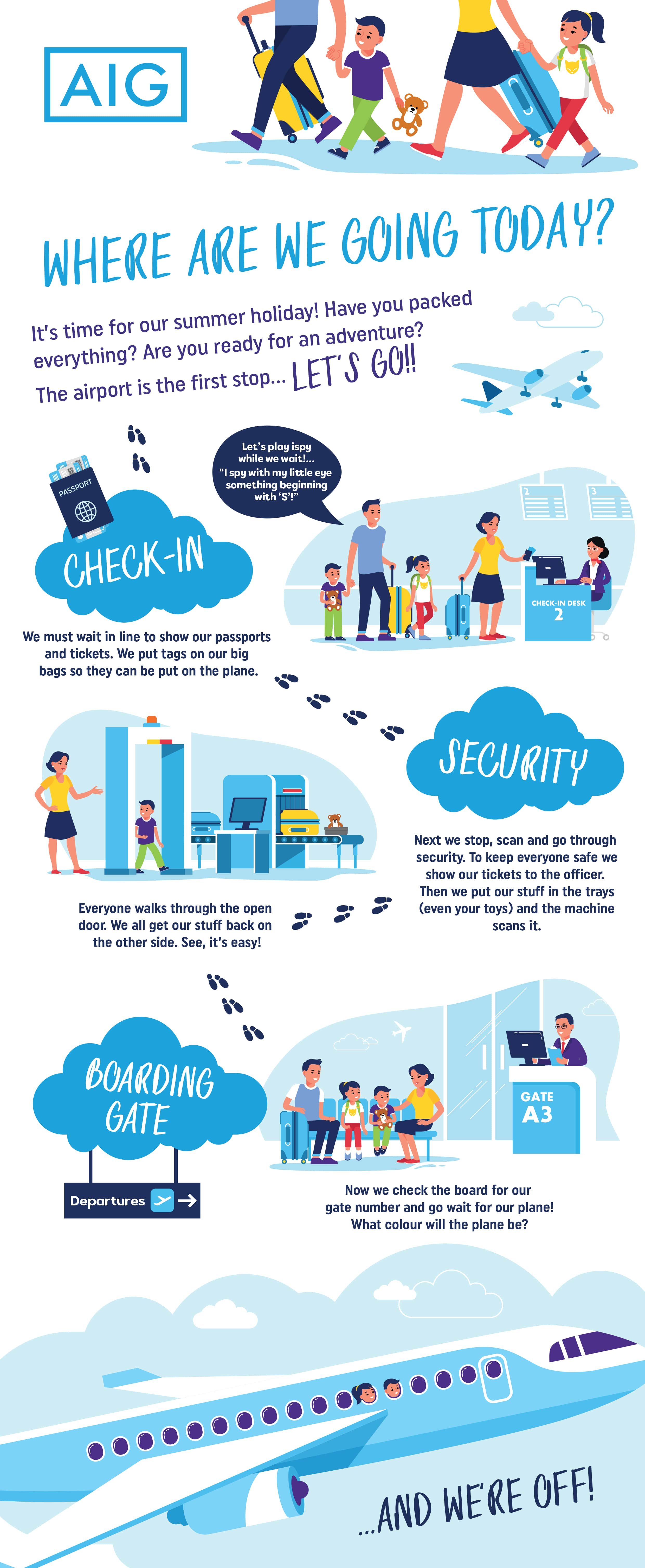 Airport Security Graphic