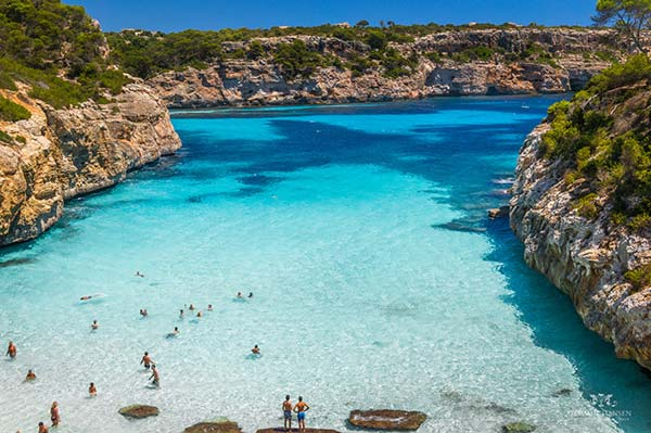 Beautiful Balearic Beach