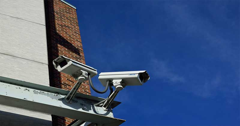 CCTV can deter crime but also help solve it.