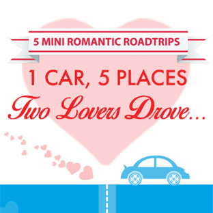 5 Mini romantic roadtrips.