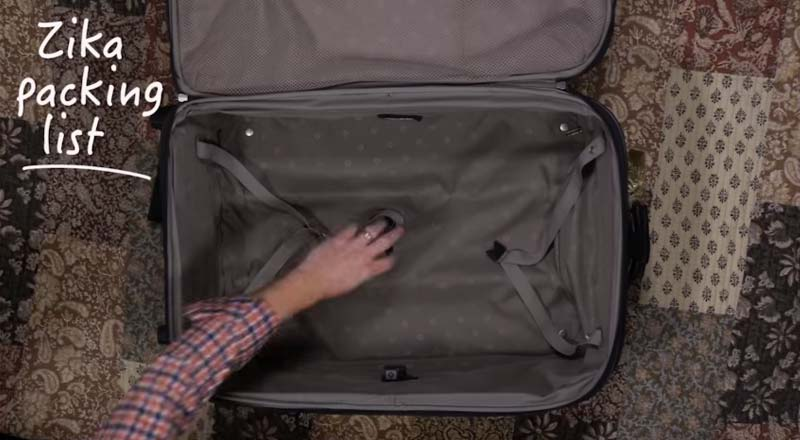 Pack Like a Champ. Pack to Prevent Zika.