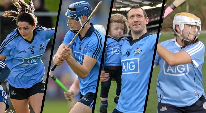 Our four stars: Sinead Goldrick, Eoghan O'Donnell, Denis Bastick and Ali Twomey