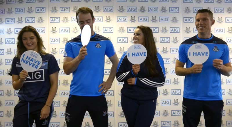Never Have I Ever with Dublin GAA - Darren Daly, Niamh Collins, Ryan O'Dwyer, Ali Twomey
