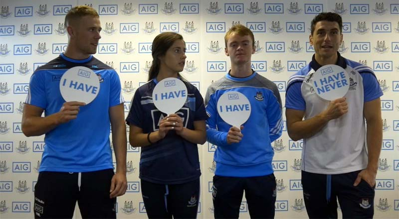 Never Have I Ever with Dublin GAA - Bernard Brogan, Paul Mannion, Molly Lamb & Oisin O' Rorke