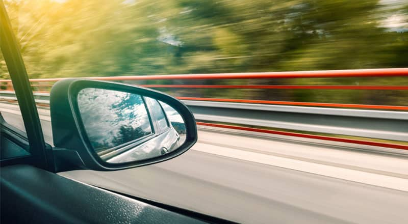 Tips for learner driver - adjust mirrors