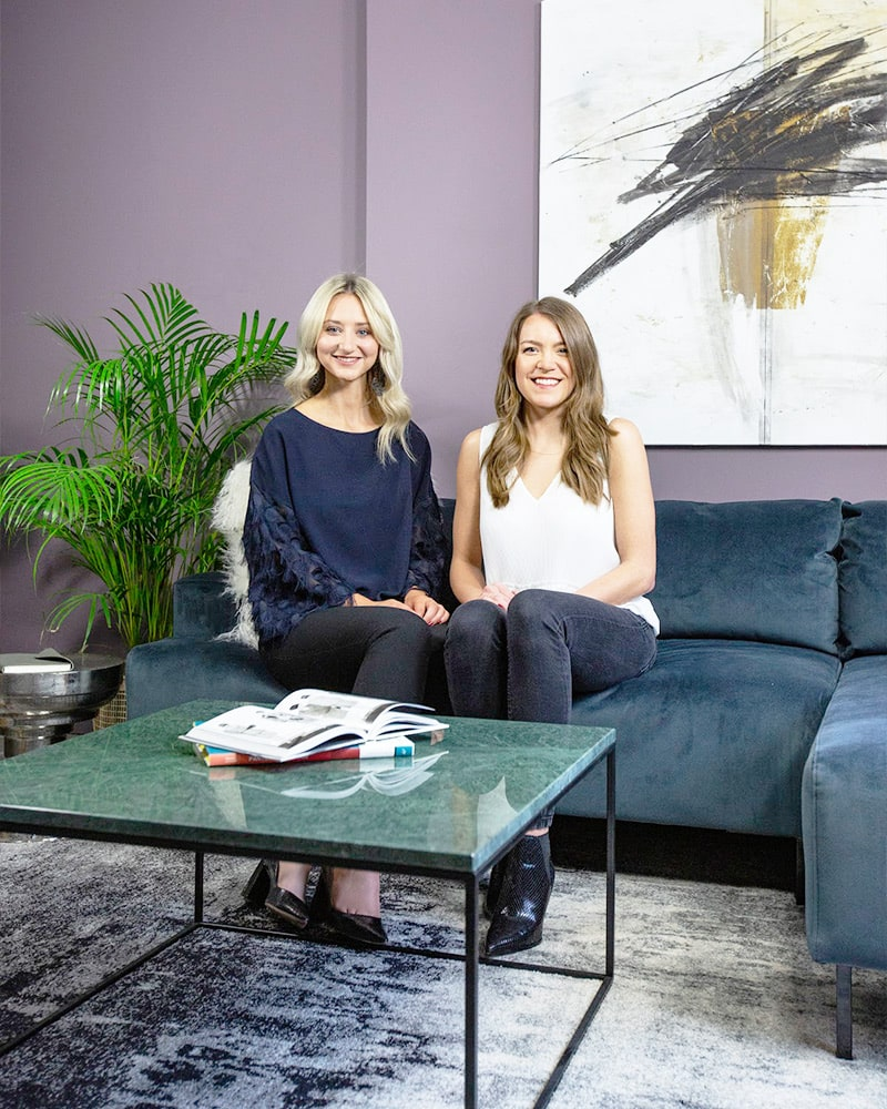 Lauren Martin and Louise Rankin of North Design