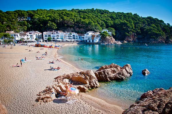 A beautiful and quaint Spanish beach