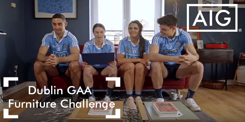 AIG presents – Dublin GAA Furniture Challenge