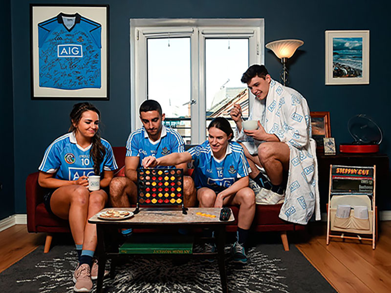 Dublin GAA stars sporting home insurance