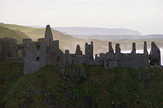 Dunseverick Castle is quite a view