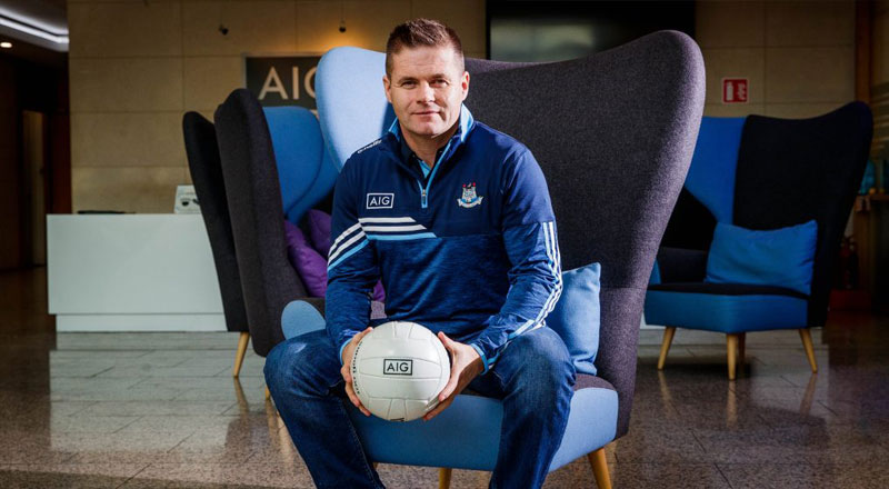 Dessie Farrell helps AIG launch new car insurance offer