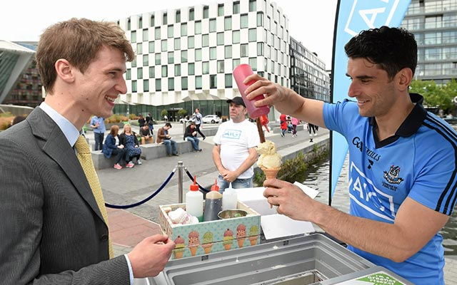 Ice Cream from Bernard Brogan