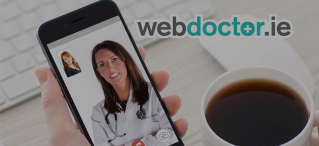 webdoctor - provides an instant prescription through a Videochat consultation.