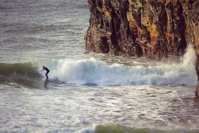 Wild Atlantic Way surfing the coast