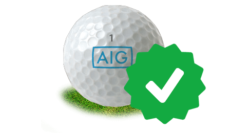 AIG golfer benefits icon