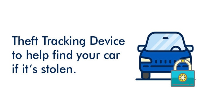 Theft Tracking Device to help find your car if it's stolen
