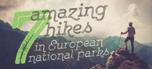 7 Amazing European Park Hikes Infographic