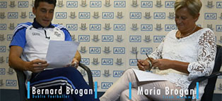 Bernard Brogan Interviewed by his Mammy | AIG Ireland