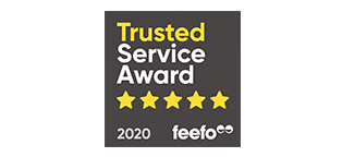 Feefo 5 Star Trusted Merchant