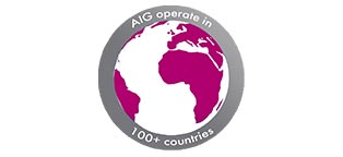 AIG Operate globally in 100+ countries