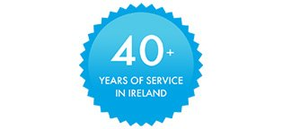 We have over 40+ years experience of serving Ireland
