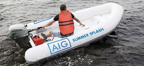 Summer Splash - AIG Boat